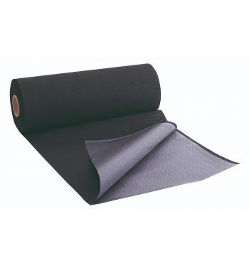UNIGLOVES Black Couch Rolls. 60cm. x 200cm.