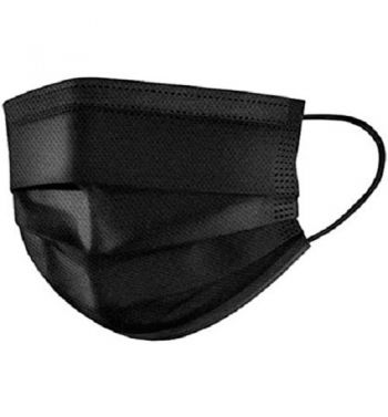 Black 3 layer masks; 50un.
