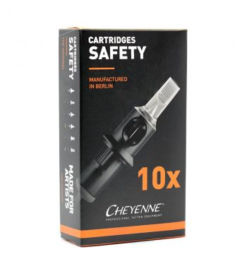 CHEYENNE Safety Cartridges; Round Shader 0.35mm. (10 units).