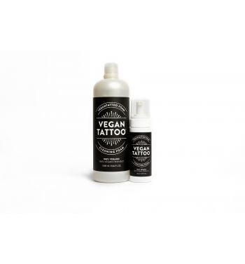 VEGAN TATTOO Cleaning Foam. 1Litre + 150ml.