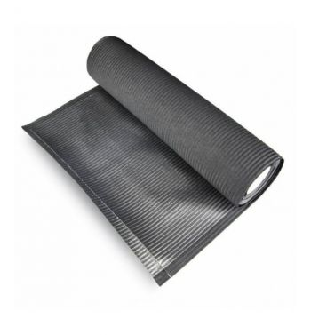 FOILED HYGIENIC UNDERCOAT BLACK ROLL; 33cm X 50mts.