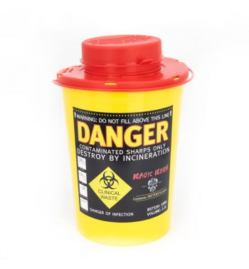 Sharps Container; 2.2 L.