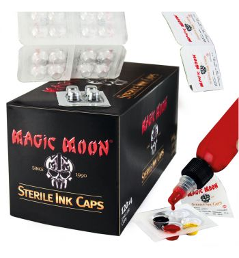 MAGIC MOON Sterile Ink Cups; 120 trays x 4 units.