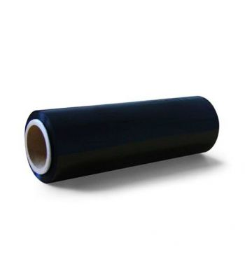 Black Cling Film Roll; 25cm. x 260m.