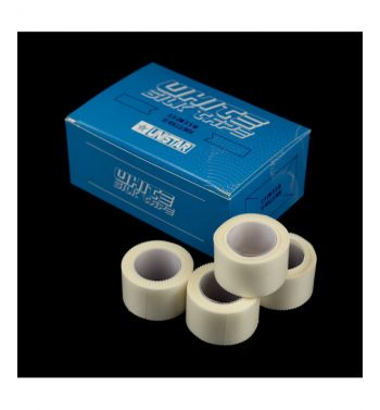 UNISTAR Silk Tape; 2.5cm.x5m. Box of 12 units.