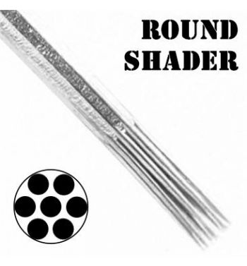 AKIRA Round Shader Needles; 0.35mm. (50 units)