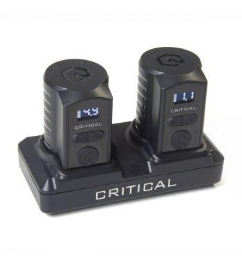 CRITICAL Bundle. 2 Universal Batteries + Battery Dock.