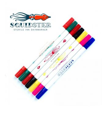 SQUIDSTER Double-sided markers. Ultra durable.
