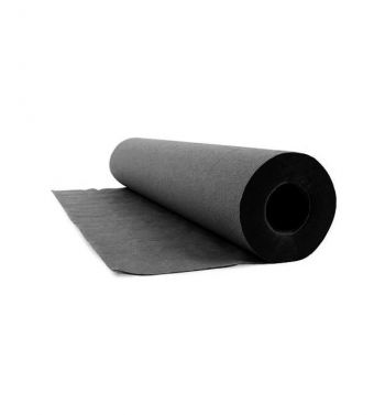 FOILED HYGIENIC UNDERCOAT BLACK ROLL; 50cm X 50mts.