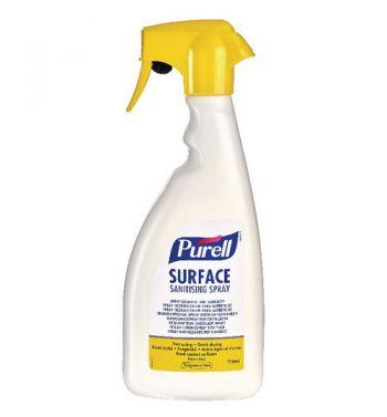 PURELL Surface Sanitizing Spray; 750ml.