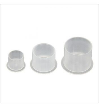 INK CUPS with flat base. (500 units).