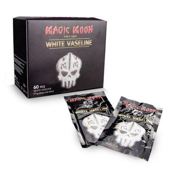 WHITE VASELINE; 60 x 5grs. Individual Sachets.